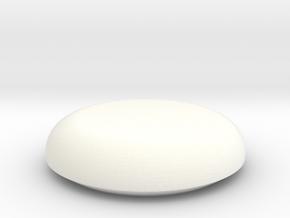 Nerf Vortex Disc in White Processed Versatile Plastic