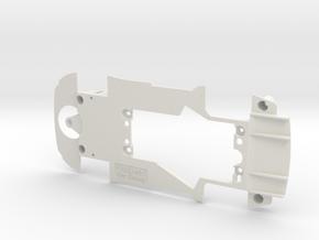 PSCA02101 chassis for Carrera Ferrari 575 GTC in White Natural Versatile Plastic