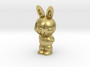 [1DAY_1CAD] BUNNY in Natural Brass