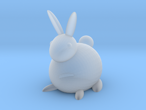 [1DAY_1CAD] RABBIT in Smooth Fine Detail Plastic