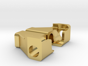 1.9 Wraith Frame and Bumper Braces in Polished Brass