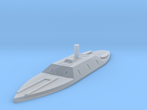 1/1200 CSS Columbia in Smooth Fine Detail Plastic