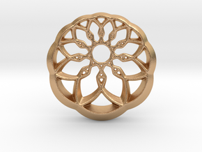 Growing Wheel in Natural Bronze