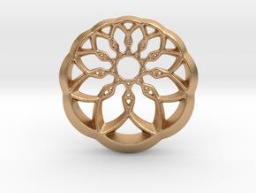 Growing Wheel in Natural Bronze
