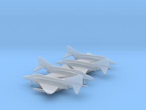 McDonnell Douglas F-4J Phantom II in Smooth Fine Detail Plastic: 1:500