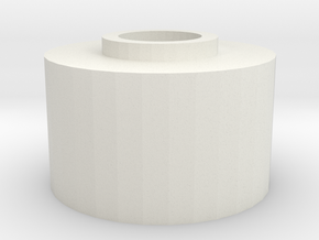 A&K SR25 spacer in White Natural Versatile Plastic