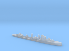 HMS Exmouth 1:3000 WW2 destroyer in Smoothest Fine Detail Plastic