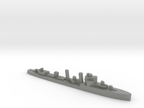 HMS Exmouth 1:2400 WW2 destroyer in Gray PA12
