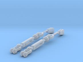 1/35 DKM UBoot Turnbuckles SET x2 in Smooth Fine Detail Plastic