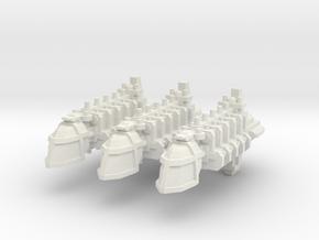 Transporte in White Natural Versatile Plastic