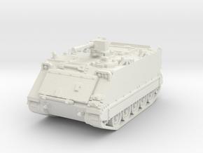 M113 A1 (closed) 1/72 in White Natural Versatile Plastic