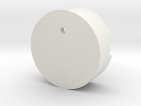 EthanChessSpkPod in White Natural Versatile Plastic