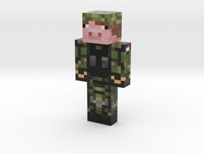 Bullitmagnet | Minecraft toy in Natural Full Color Sandstone