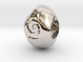 Hearthstone bead in Platinum