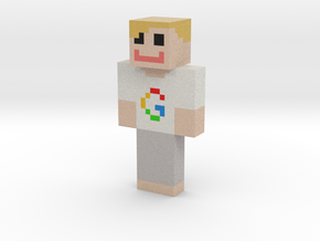 IkHebGeld | Minecraft toy in Natural Full Color Sandstone