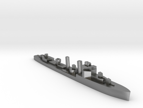 HMS Faulknor 1:2400 WW2 destroyer in Natural Silver