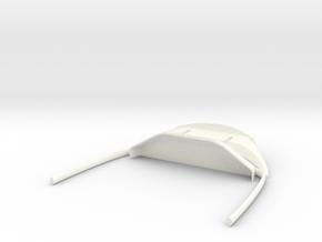 SUKHOI SU27 (CARF MODELS) COCKPIT (D) in White Processed Versatile Plastic