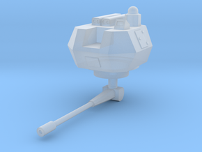 Brams turret AA  1:144 in Smooth Fine Detail Plastic