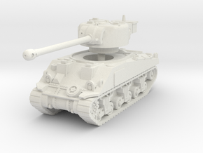 Sherman VC Firefly 1/87 in White Natural Versatile Plastic