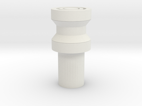 Kill key2 in White Natural Versatile Plastic