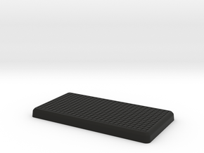 Tuff Box Lid in Black Natural Versatile Plastic