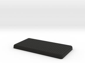 Tuff Box Lid in Black Natural Versatile Plastic