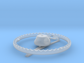 Sea Maid Wire Wheel 1:6 in Smooth Fine Detail Plastic