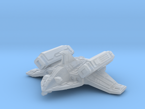 (MMch) Missile Boat in Smooth Fine Detail Plastic