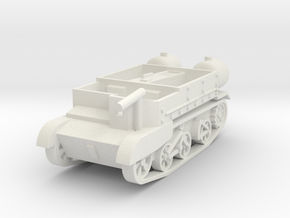 Universal Carrier Ronson 1:72 in White Natural Versatile Plastic