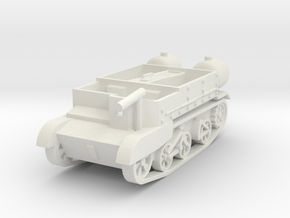 Universal Carrier Ronson 1:87 in White Natural Versatile Plastic