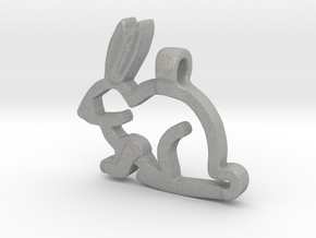 Rabbit in Aluminum