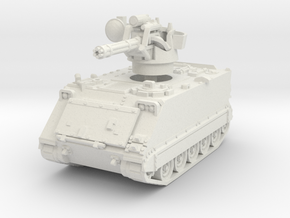 M163 A1 Vulcan (early) 1/76 in White Natural Versatile Plastic