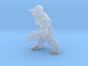 Kwan Do in Smooth Fine Detail Plastic