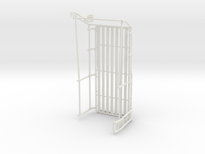 Orlandoo D110 Upper cage/rack with side ladder. in White Natural Versatile Plastic