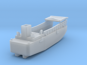 LCM3 Scale 1:200 Landing Craft with pivot hinge po in Smooth Fine Detail Plastic