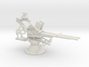 1/35 IJN Type 93 13mm Twin Mount in White Natural Versatile Plastic