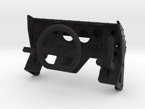 scale crawler rock bouncer cockpit steering wheel  in Black Natural Versatile Plastic