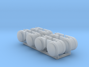 HO scale 50 gallon Hydraulic Oil Tanks in Smooth Fine Detail Plastic