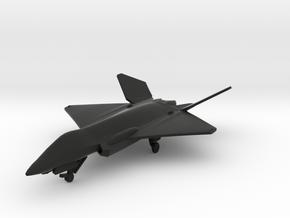 F-35F Lightning II Concept in Black Natural Versatile Plastic: 1:200