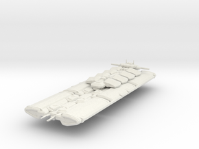 Industrial Ship Orca - 140mm in White Natural Versatile Plastic