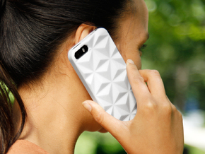 iPhone 5/5s Case - Prismada in White Strong & Flexible Polished