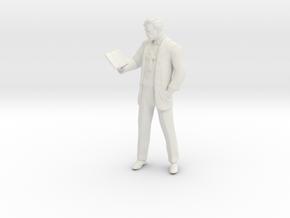 Printle C Homme 1011 - 1/18 - wob in White Natural Versatile Plastic