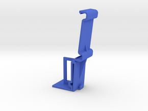 Vertical Valance Clip Louverdrape 022 in Blue Processed Versatile Plastic