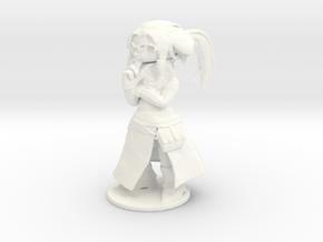 Maya-FINAL in White Processed Versatile Plastic