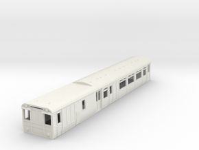 o-87-lnwr-siemens-ac-V2-motor-coach-1 in White Natural Versatile Plastic