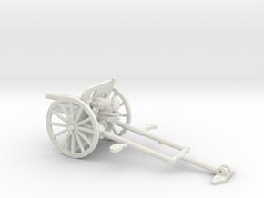 1/56 IJA Type 41 75mm Mountain Gun in White Natural Versatile Plastic