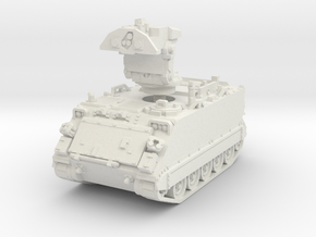 M901 A1 ITV early (deployed) 1/72 in White Natural Versatile Plastic