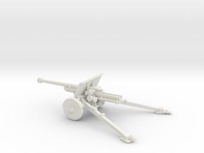 1/87 IJA Type 90 75mm Field Gun no seat in White Natural Versatile Plastic