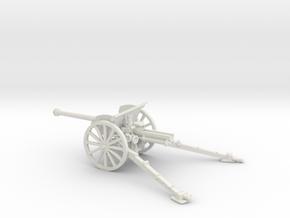 1/72 IJA Type 90 75mm Field Gun (horse drawn) in White Natural Versatile Plastic