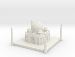 Taj Mahal 1/1000 in White Natural Versatile Plastic